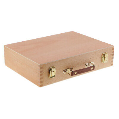 Wooden Artist Easel Box Watercolour Oil Acrylic Painting Canvas Brush Box