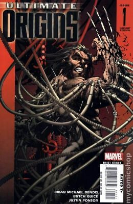 Ultimate Origins 1C 2008 Turner Variant VF 8.0 Stock Image