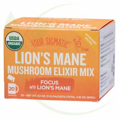 FOUR SIGMATIC - Mushroom Elixir Mix Packets With Lion's Mane 20x3g