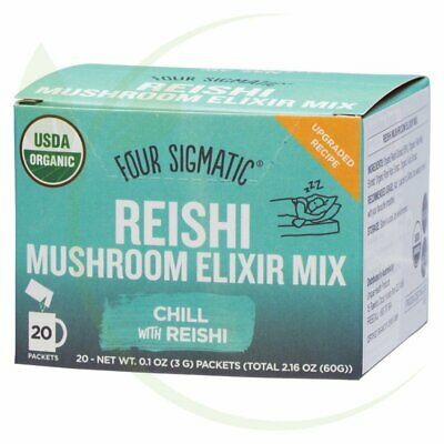 FOUR SIGMATIC - Mushroom Elixir Mix Packets With Reishi 20x3g