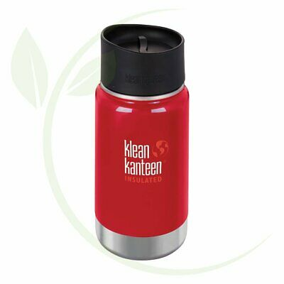 KLEAN KANTEEN - Wide Insulated Travel Mug Mineral Red - Caf   Cap 355ml