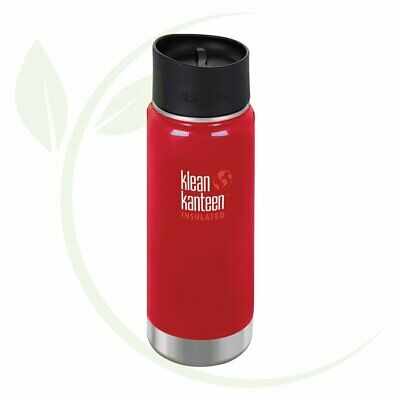 KLEAN KANTEEN - Wide Insulated Travel Mug Mineral Red - Caf   Cap 473ml