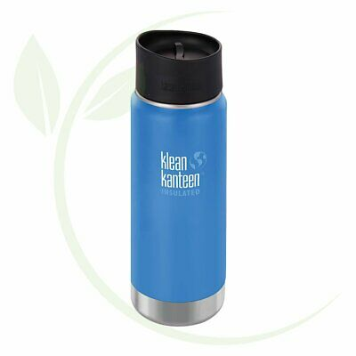 KLEAN KANTEEN - Wide Insulated Travel Mug Pacific Sky -  Caf   Cup 473ml