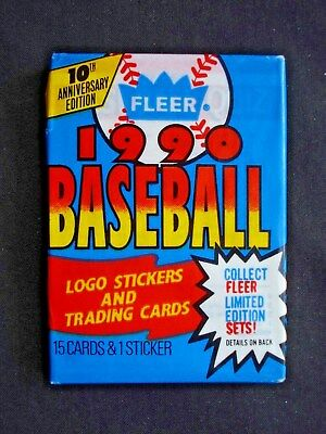 1990 Fleer *baseball* Sealed Wax Pack