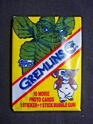 1984 Topps *gremlins* Sealed Wax Pack