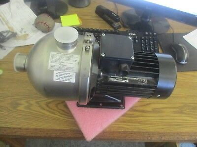 Grundfos: CHI12-10 A-B-G-BQQE Booster Pump. Model: C 4F503470 P10117. New Old <