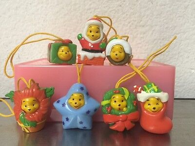 Disney 8 Sets Winnie Peek-A-Pooh #10 Christmas figure 7pcs Total 56 Pieces
