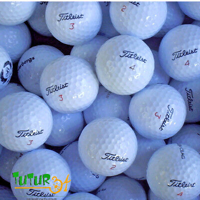 "20 Balles De Golf "" Titleist Nxt / Nxt Tour "" Tbe"