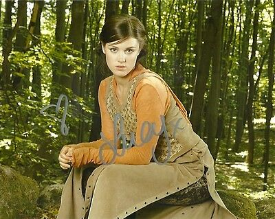 Robin Hood Lucy Griffiths Autographed Signed 8x10 Photo COA