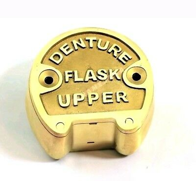 dental denture upper lab set  flasks original brass set laboratory