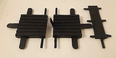 Land Rover Series 2, 2a & 3 Pedal Pad Rubbers Set 278166 x2 509463 x1