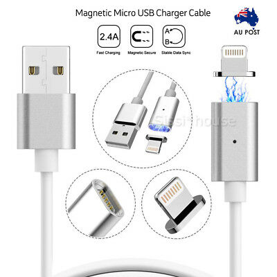 Magnetic Micro usb Charging Cable iphone Type C Samsung Android iPad Charger A