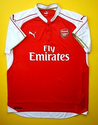 2016-17 PUMA ARSENAL Youth Home Soccer Jersey Gunners Size Youth XL ... 2bc97fce5