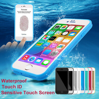 360° Waterproof Dustproof Rubber Phone Case Cover For iPhone X 6 s 7 8 Plus 5 SE
