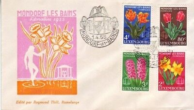 Luxembourg - Special Events, Persons & Anniversaries (7no FDC's) 1955-78