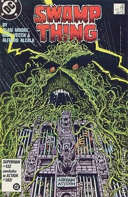 Swamp Thing (2nd Series) #52 1986 VG+ 4.5 Stock Image Low Grade