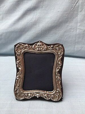 Vintage KEYFORD FRAME Rocco Style Sterling HM Silver Photo Frame London 1991