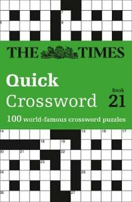 The Times Quick Crossword Book 21 100 World-Famous Crossword Pu... 9780008173890