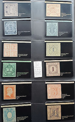 Phone Cards Calling Card 12 Postage Stamps Classic Old Germany Mint 1000ex