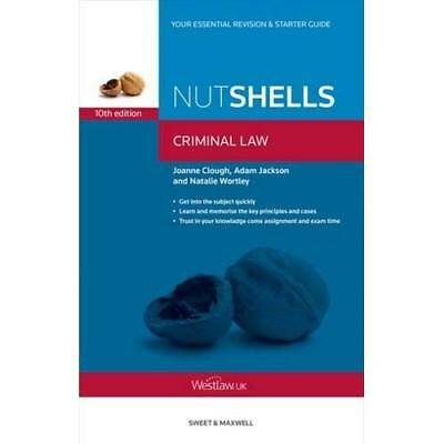 Nutshells Criminal Law - Paperback NEW Wortley, Natali 2014-03-31