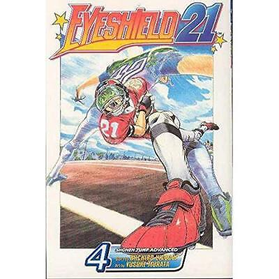 Eyeshield 21: Volume 4 (Eyeshield 21) - Paperback NEW Inagaki, Riichi 2015-02-19