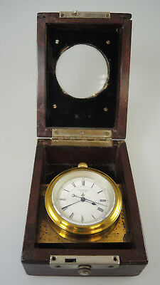 Rare English Silver Military Deck Watch HS2 by Newsome & Co Coventry. Circa 1900