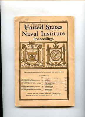 PB BK United States Naval Institute Proceedings May 1919 Monthly Issue