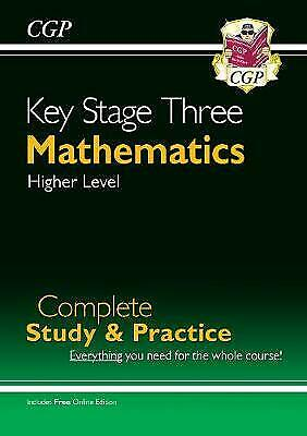 New KS3 Maths Complete Study & Practice - Higher (with Online... - 9781841463834