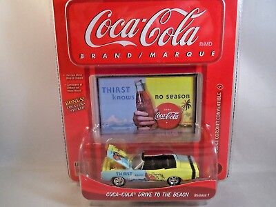 Johnny Lightning Coca Cola 1969 Dodge Coronet Convertible CHRISTMAS GIFT