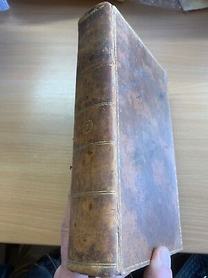 1803 Law Reports Of Cases In Court Kings Bench Large Heavy Leather Book