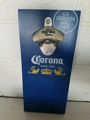 Corona extra Beer Wall Mount Bottle Opener