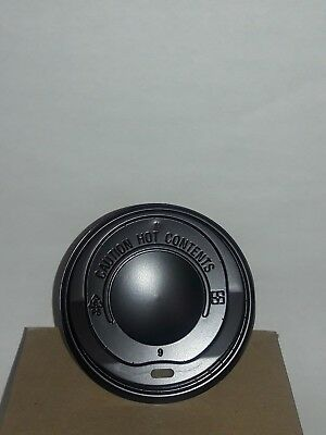 20 oz Black Coffee Cup Dome Plastic Lids 1000 per case. *ForDC20SP1 Cup ONLY*