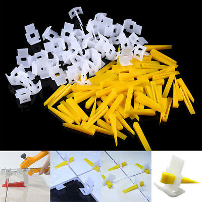Ceramic Leveling System 1600 Clips+800 Wedges Tile Leveler Spacers Lippage +Tool