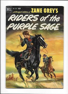 Four Color #372 [1952 Fn-] Zane Grey's Rider Of The Purple Sage