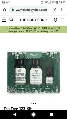 The Body Shop Tea Tree Gift Set Ideal Christmas Present