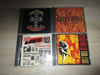 Guns`n Roses 4 CD Musik Sammlung Spaghetti Incident?  Appetite For Destruction