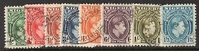 Nigeria 1938-40 King George Vi Issue