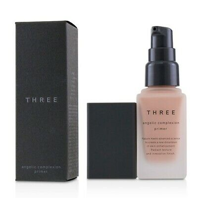 THREE Angelic Complexion Primer SPF22 - # 01 Pink Petal 30g Womens Make Up
