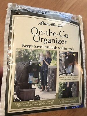 Eddie Bauer On the Go Organizer For Baby Strollers or Shopping Carts