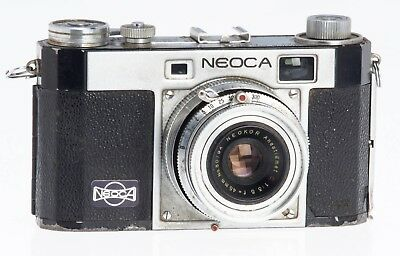 Neoca 2S 35mm Film Rangefinder with 45mm F3.5 Lens - AS IS Bad Shutter