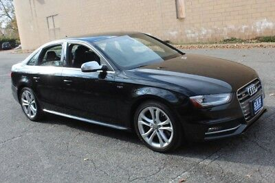2015 Audi S4 NAVIGATION,SUNROOF,LEATHER HEATED SEATS 3.0 LITER V6, 7 SPEED AUTO, AWD, BLACK ON BLACK, DUAL ZONE CLIMATE, HOMELINK SYS
