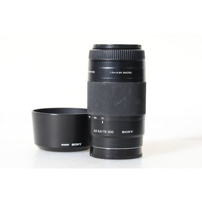 Sony Alpha SAL75300 75-300 mm F/4.5-5.6 Af Mf Tele Objetivo Zoom