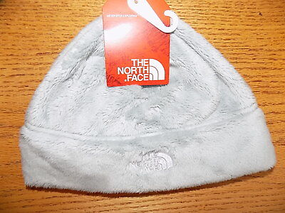 NWT The North Face Women's Denali Thermal Beanie  High Rise Grey Winter Hat $30