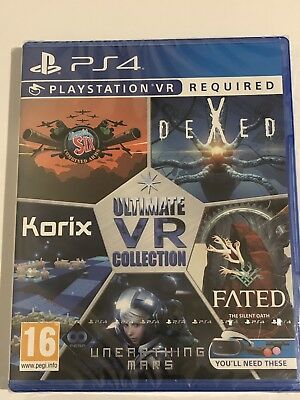 Ultimate Vr Collection Psvr - Ps4 Uk Game New Sealed *Free Uk Post*