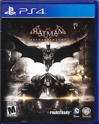 Batman: Arkham Knight (Sony PlayStation 4, 2015) PS4
