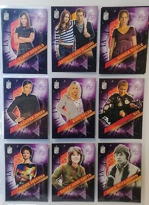 Topps DOCTOR WHO Timeless - COMPANIONS ACROSS TIME Complete 10 Card Chase Set