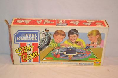 Vintage 1974 Ideal Evel Knievel Stunt Game