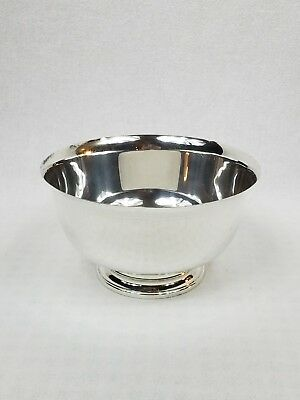 """Sterling By Fina (Michael C Fina) Bowl 6"""", 192 Grams, Revere Style Vtg No Res"""