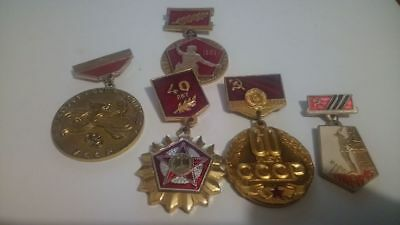 Badges of the USSR vintage