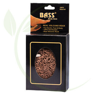 BASS BODY CARE - Real Volcanic Rock For Hands, Feet & Body 1